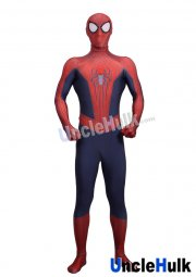 Classic Spiderman 2 Lycra Zentai Bodysuit (include lenses and shoes' soles)
