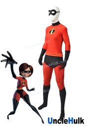 Incredeble Woman Movie The Incredibles Lycra Spandex Zentai Costume Cosplay Bodysuit | UncleHulk